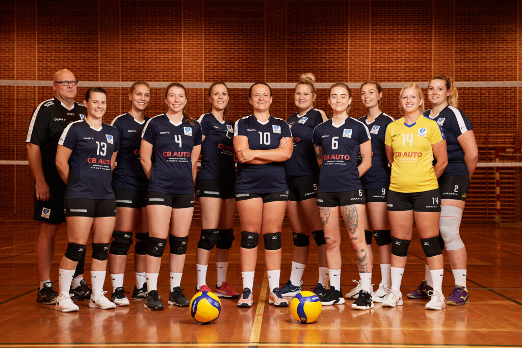 Damehold 1.Division VOLLEYBALL Esbjerg