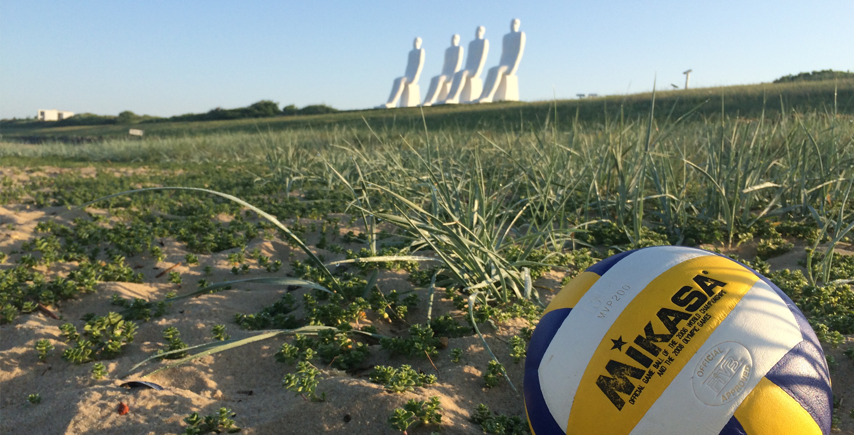 Spil volleyball i Esbjerg